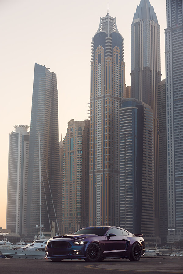 Car photographer Dubai