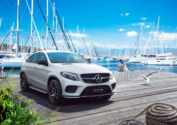 Mercedes Gle 43 Dubai car Photography