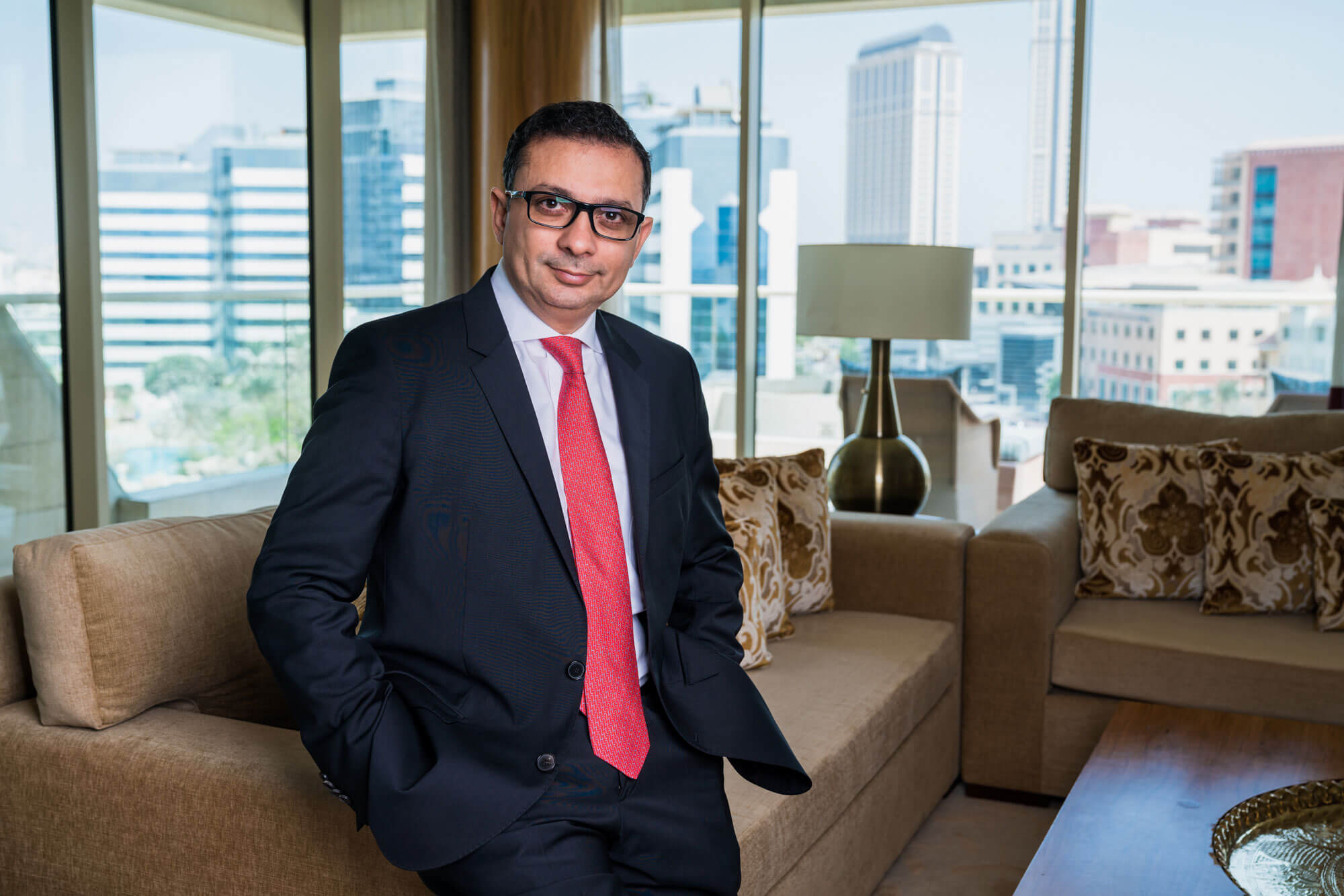 Corporate portrait photography in Dubai